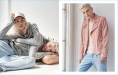 GUESS proposes leisure with its grey hoodies or a more city look with its…