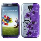 Samsung Galaxy S4 MyBat Twilight Petunias Design Case