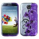 Samsung Galaxy S4 MyBat Twilight Petunias Design Case
