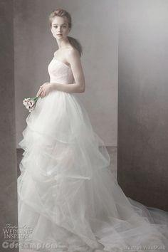chiffon wedding dress wedding gown