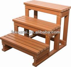 Plastic Hard Wood Hot Tub Step - Buy Outdoor Wood Steps,Spa Hot ...