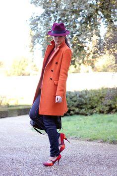 gorgeous orange coat