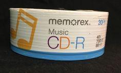 Memorex Music CD-R. 30 Pack 40x  700MB  80 min    Business & Industrial, Office, Office Supplies   eBay!