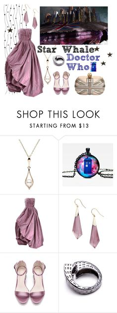 """""""Star Whale"""" by fabulous-monsters ❤ liked on Polyvore featuring Oscar de la Renta, Alexis Bittar, Co.Ro, Alexander McQueen and doctorwho"""