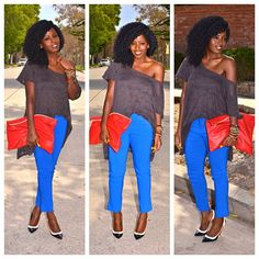 Today's Post: Off the shoulder!