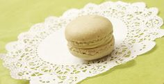 Matcha Macarons Filled With Match Buttercream [recipe from Chez Ma Cuisine]