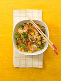 Mango-Shrimp Rice Noodles