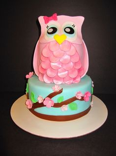 1000+ images about Cake Design for Owl Cake on Pinterest ...
