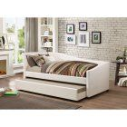 Coaster Furniture Ozona Upholstered Daybed with Trundle