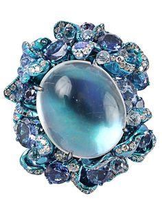 ARUNASHI Moonstone ring