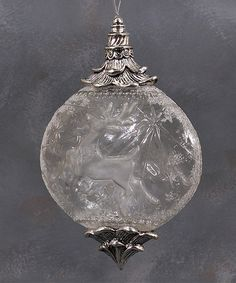 Love this Etched Ball Ornament by Enesco on #zulily! #zulilyfinds