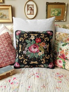 Check out this item in my Etsy shop https://www.etsy.com/uk/listing/515091859/stunning-vintage-needlepoint-cushion
