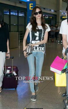 140727 yoona's airport fashion
