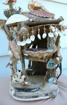 Mermaid doll house