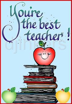 the best teacher, school clip art