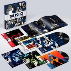 Ghost in the Machine Every Move You Make: The Studio Recordings is a new vinyl box set to celebrate the anniversary of the band's first album Outlandos d'Amour. Can't Stand Losing You (Side B). Abbey Road, Lps, Lp Vinyl, Vinyl Records, Zenyatta Mondatta, Hole In My Life, Hungry For You, Andy Summers, Police