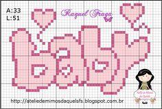 200 Cross Stitch – Page 5 Baby Cross Stitch Patterns, Cross Stitch Baby, Cross Stitch Alphabet, Cross Stitch Designs, Baby Patterns, Cross Stitch Quotes, Cross Stitch Cards, Cross Stitching, Cross Stitch Embroidery