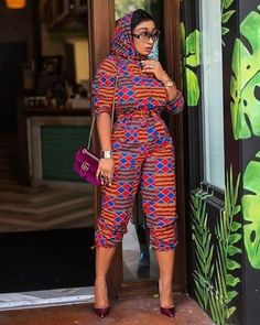 African Print Jumpsuit, Ankara Jumpsuit, Ankara Dress, Ankara Skirt And Blouse, African Wear, African Attire, African Dress, African Women, African Outfits