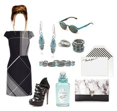 """""""M-2"""" by lafeur ❤ liked on Polyvore featuring Journee Collection, Sugar Paper, Karen Millen, Mr. Boho, Prada, PENHALIGON'S and Native"""
