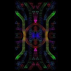 Symmetry virus 001 by Mauro B.