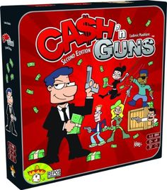 Cash N Guns second edition, great party game for up to 8 players and lots of laughs.