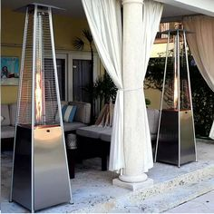 Bonfire Flame Deck Heater With Natural Gas Burner At Www.dcgstores.com    Sales $899.00