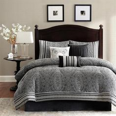 Madison Park Denton 7-piece Comforter Set  Sale: $97.89