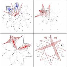 pick point vzorčki foto
