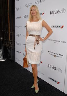 Ivanka Trump - Celebrity Guests Visit VMA Style Villas At Bryant Park Hotel