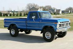 I love blue, I love F-100's...I just LUURVE this one!!