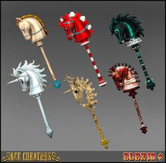 This is another set converted from the awesome Alice: Madness Returns game. This time I bring you Hobby Horse deco set, which originally w. Alice Cosplay, Cosplay Diy, Horror Movie Characters, Cosplay Characters, Horse Illustration, Character Illustration, Alice In Wonderland Drawings, Alice Liddell, Alice Madness Returns