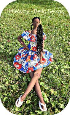 Brazil dolll textile doll african dolls by littlesbyBella
