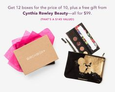 Best Birchbox Subscription Deal – 2 Free Boxes & Cynthia Rowley Gift Set! | My Subscription Addiction