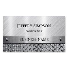 Construction slogans business cards business cards slogan and modern brushed metal look fully customizable business card colourmoves