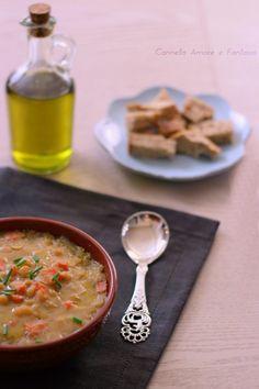 Zuppa di ceci - ricetta siciliana