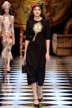 Неделя моды в Милане: Dolce & Gabbana f/w 2016/17 (Интернет-журнал ETODAY)