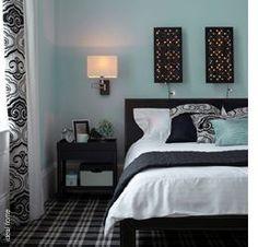 60 Best Blue and black bedroom ideas images   Bedroom decor ...