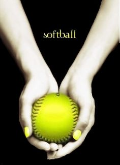 Two best things in the world, Twilight and Softball!!!