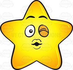 Single Gold Star Cartoon Blowing A Kiss And Winking Emoji #big #blinkofaneye #bright #brightly #cartoon #cutestar #ease #emoji #emoticon #facialexpression #facialgesture #fatstar #flirtation #flirting #gloss #glossy #gold #golden #gradient #heavenlybody #kiss #puffed #puffy #shine #shining #shiningbrightly #shiny #smiley #smilies #star #starcartoon #stellar #toying #wink #yellow #yellowgradient #vector #clipart #stock