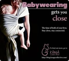 COCAM- carrying on campaign- Australia's babywearing campaign May 2012!