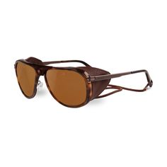 eea6e0707db Buy Vuarnet GLACIER Polarized 0007 2622 sunglasses in Shiny Tortoise online  today from SmartBuyGlasses.