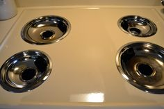 Clean your stove drip pans, this looks like it will be awesome!