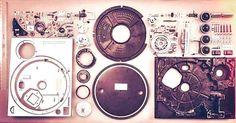 All too familiar. The internals and guts of a technics turntable. So cool  #dj #turntablism #vinyl #legit #wax #sl1200 #sl1210 #technics #technicsmkii by leodewhurst http://ift.tt/1HNGVsC
