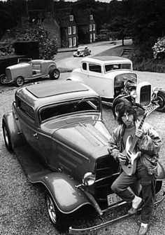 Jeff Beck, 32 Ford, Les Paul, Mlp, Rock And Roll, Antique Cars, Blues, Hero, Guitars