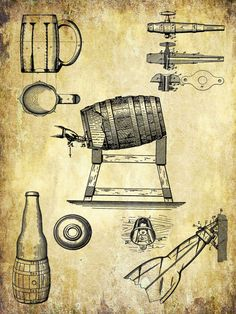 Brewing Equipment Poster