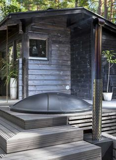 Cabana, Sauna House, Amazing Swimming Pools, Sauna Design, Cabin Chic, Backyard Office, Clay Houses, Modern Cottage, Cabin Homes