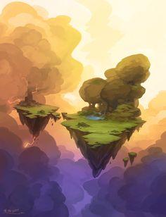 Clouds, Stoyan Stoyanov on ArtStation at https://www.artstation.com/artwork/clouds-fa8eb3b1-fc2f-4aef-bae4-eeb92e7b6cc7