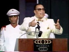"Minister Farrakhan  - ""A Nation Can Rise No Higher Than It's Woman"" (1 of 2)"