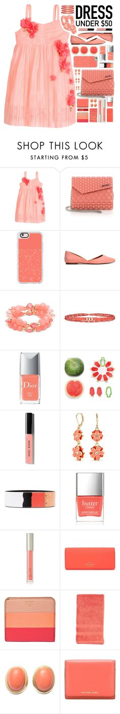 """""""""""Dress Under $50"""" - Contest"""" by arierrefatir on Polyvore featuring H&M, Jimmy Choo, Casetify, Nine West, Comptoir Des Cotonniers, Christian Dior, Luckies, Bobbi Brown Cosmetics, Napier and Moschino"""