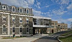 OMA. Edifício universitário, Ithaca, EUA